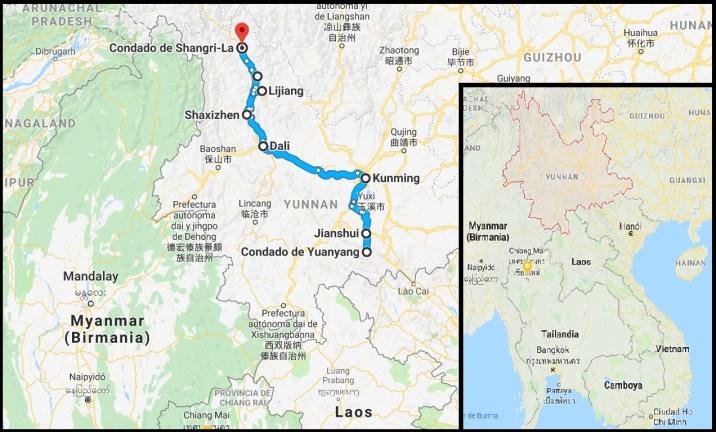 Ruta por Yunnan 1024x618 - Viaja a Yunnan con nosotros: Ruta de 12 días