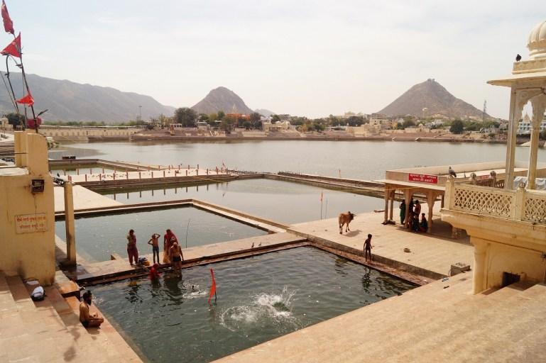 Visita a Pushkar - Ghats del Lago de Phuskar