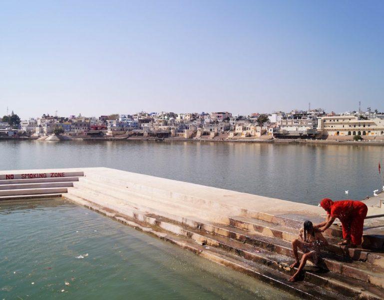 Pushkar - Purificándose en el Lago de Pushkar