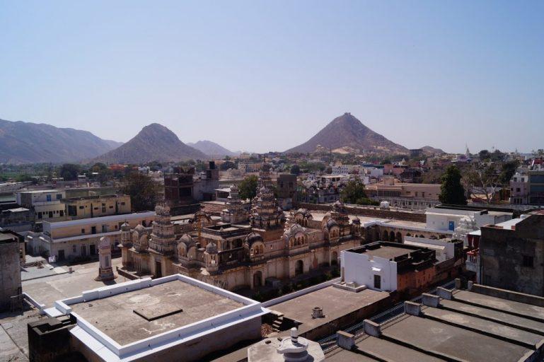 Visita a Pushkar - Vistas desde el ático