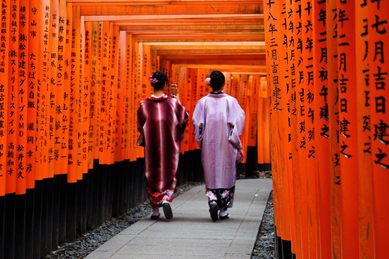 Kioto Fushimi Inari 1 - Kyoto, the 9 most famous places to see in 4 days