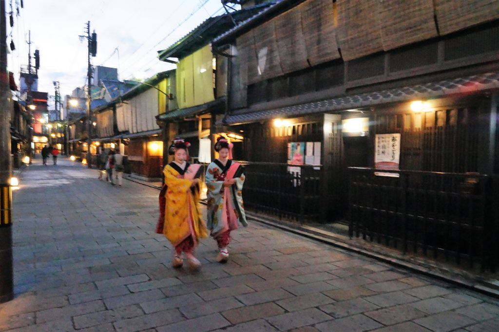 Kioto Gion Geishas 1024x682 - Kyoto, the 9 most famous places to see in 4 days