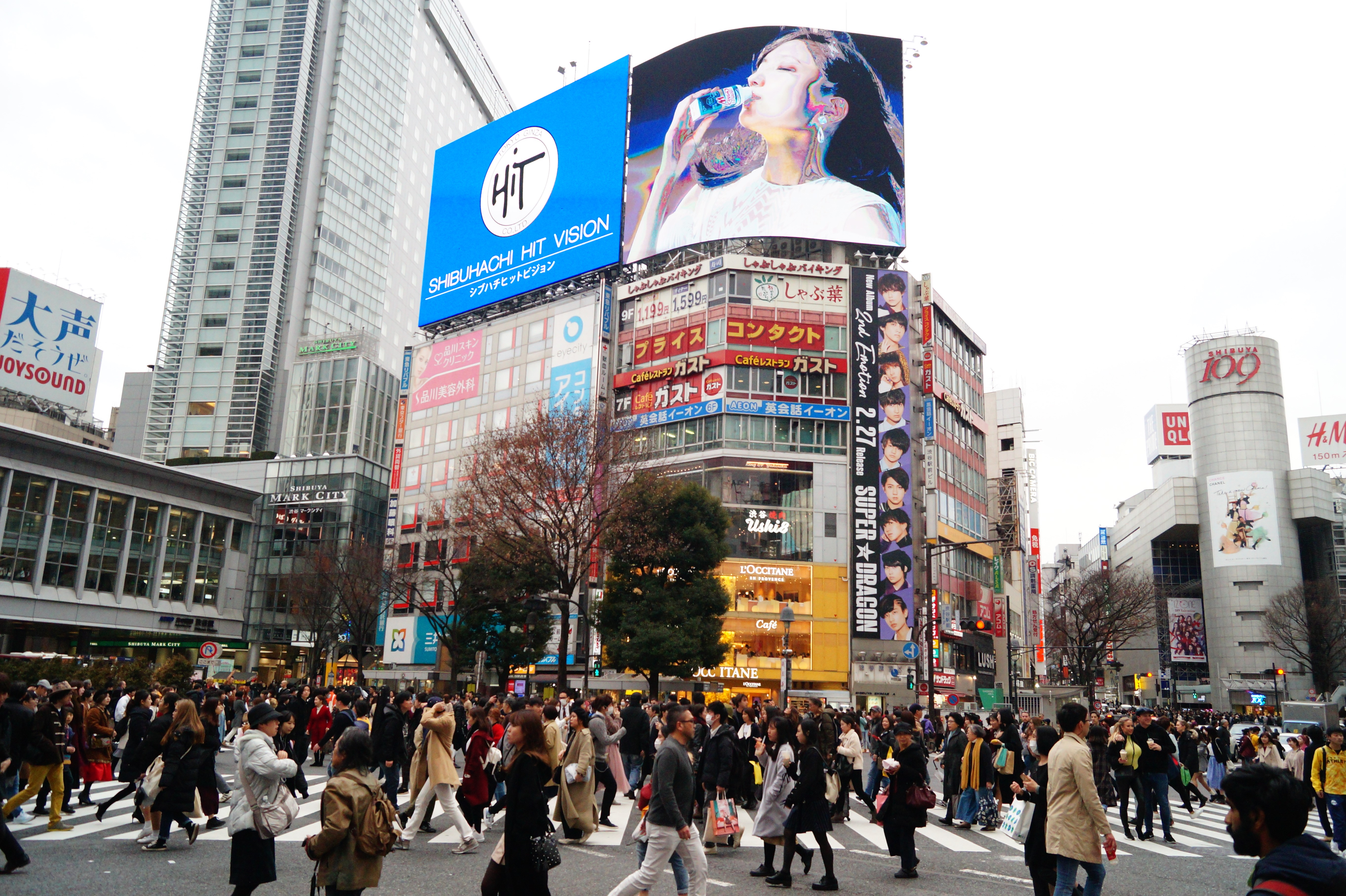 Tokyo Cruce de Shibuya 01 - Tokyo in 4 days: 5 must-see places