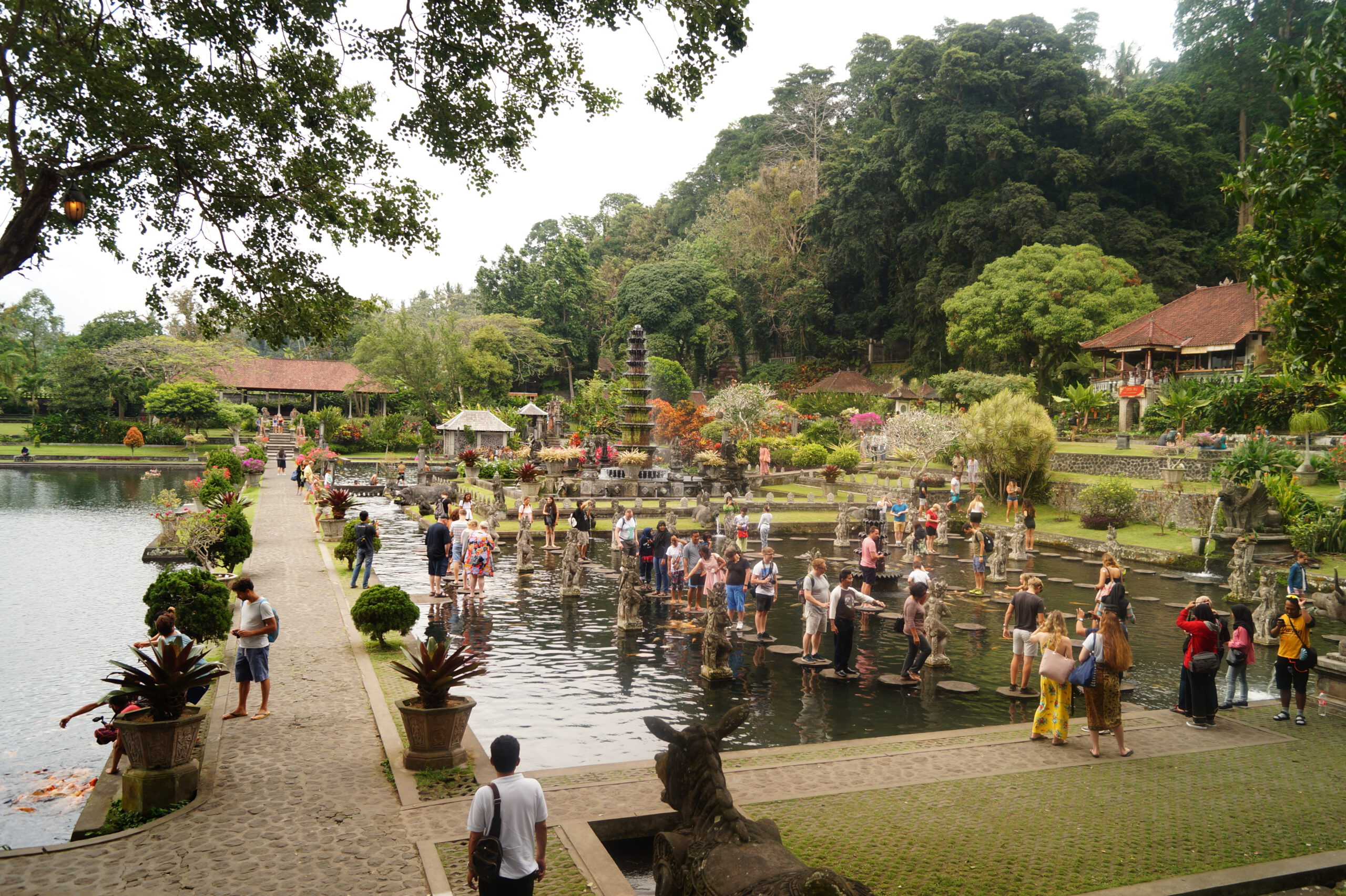 Bali Amed Parque Tirta Gangga scaled - Travel guide to Amed and Mount Agung; the treasure of Bali