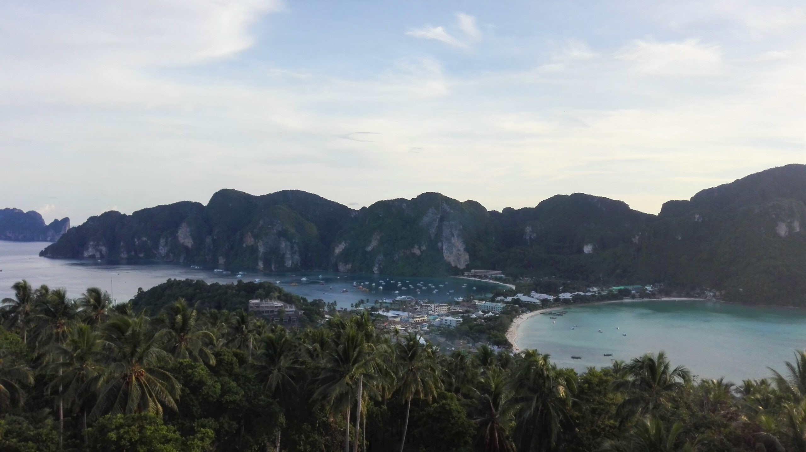 Thailand Koh Phi Phi Viewpoint scaled - Koh Phi Phi, the most famous beach in the world