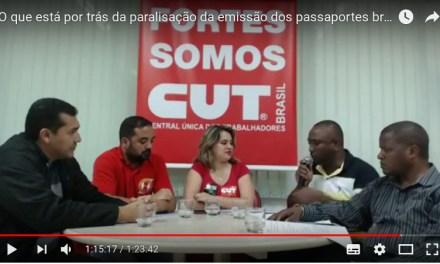 O que está por trás da paralisação da emissão dos passaportes brasileiros