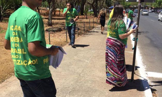 Moedeiros defendem a Pátria em ida à Brasília
