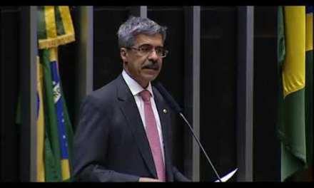 Deputado Luiz Sérgio critica privatização da CMB no Plenário da Câmara