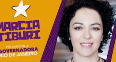 SNM receberá, amanhã 07/08, a pré candidata ao governo do RJ, Márcia Tiburi