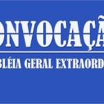 EDITAL DE CONVOCAÇÃO ASSEMBLEIA GERAL EXTRAORDINÁRIA