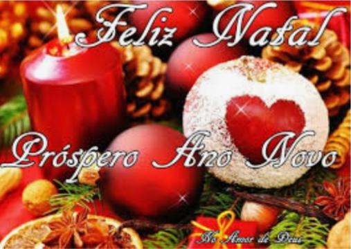 Mensagem Especial de Feliz Natal e Prospero Ano Novo
