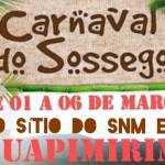 Sorteio de Carnaval no Sítio em Guapimirim