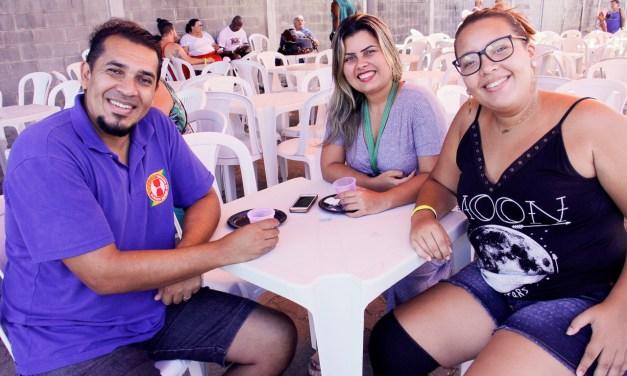 Encontro de amigos na Festa dos Aposentados de 2019 (fotos)