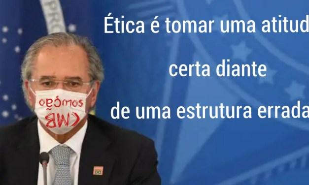 Guedes diz que governo pode 'imprimir' dinheiro, mas apenas em 'armadilha de liquidez'
