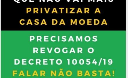 Bolsonaro: Casa da moeda uma Questão ESTRATÉGica