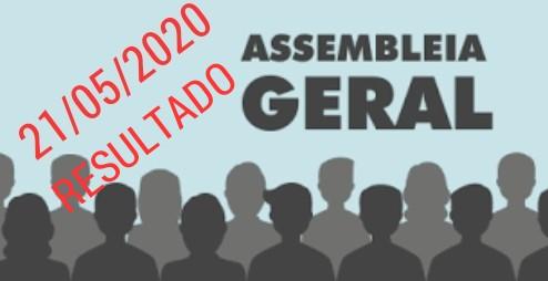 Resultado da Assembleia Geral sobre proposta de horas extras no Deced e proposta de regime de escala no Deger
