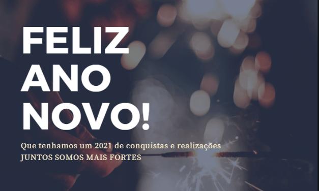 O SNM DESEJA UM FELIZ 2021!