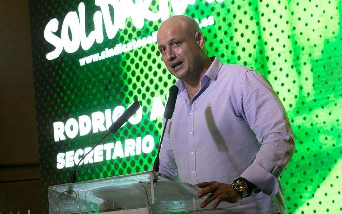 """Rodrigo Alonso: """"Solidaridad nace por todos los currantes que madrugan y  por los que buscan trabajo"""" - Sindicato Solidaridad"""