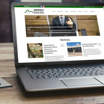 Sindifisco-RJ lança novo site