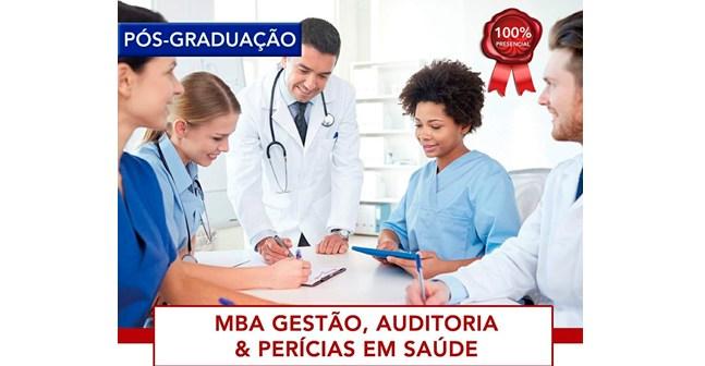 Começa em março MBA em Gestão, auditoria e perícias em saúde