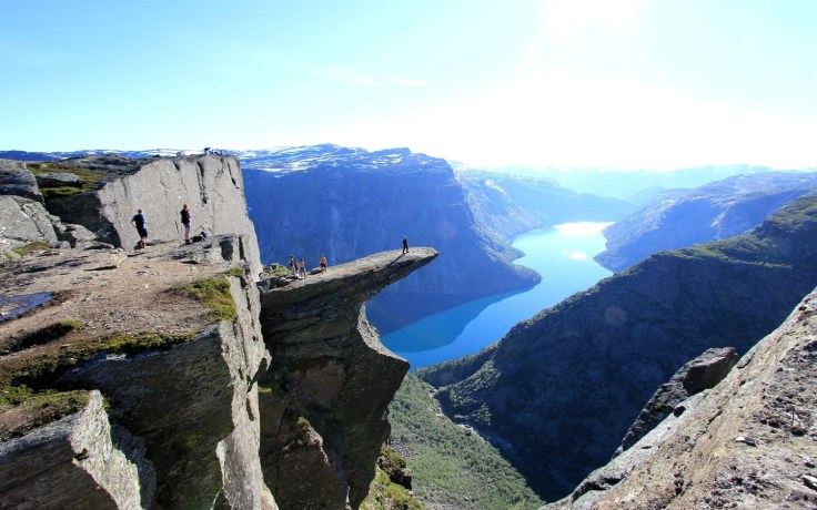 Trolltunga Norway - Nature Writing Inspiration