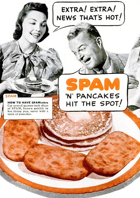 spam folder pancakes