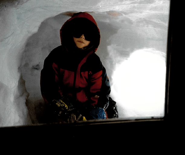 young sindrelf finse hoth snow