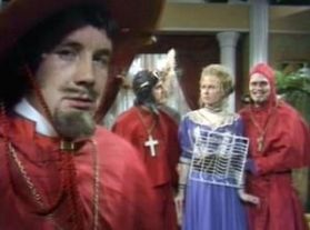 I bet you didn't expect the spanish inquisition