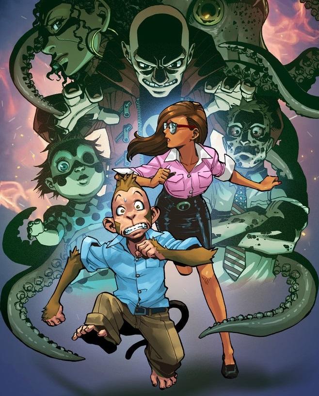jonathan coulton monsters halloween horror songs code_monkey_save_world by jessica kholinne