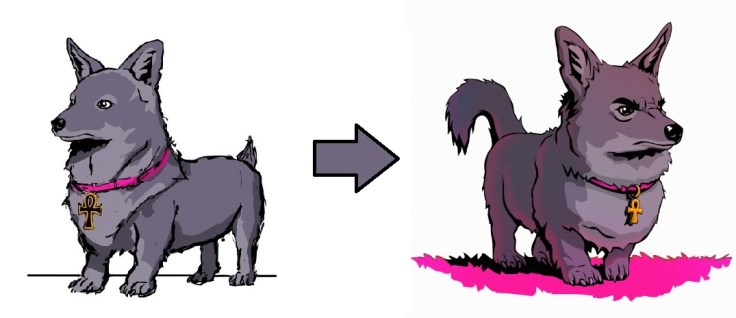 Dog Anubis early concepts