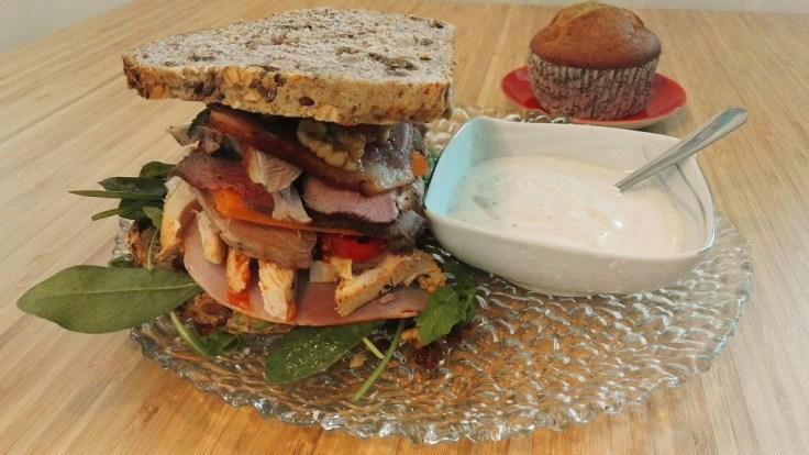 ninja sex party The Ultimate Sandwich Recipe muffin