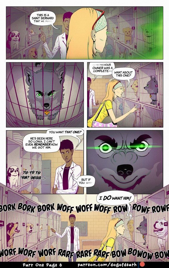 Anubis: Dog of Death – Part One – Page 6 - comic book