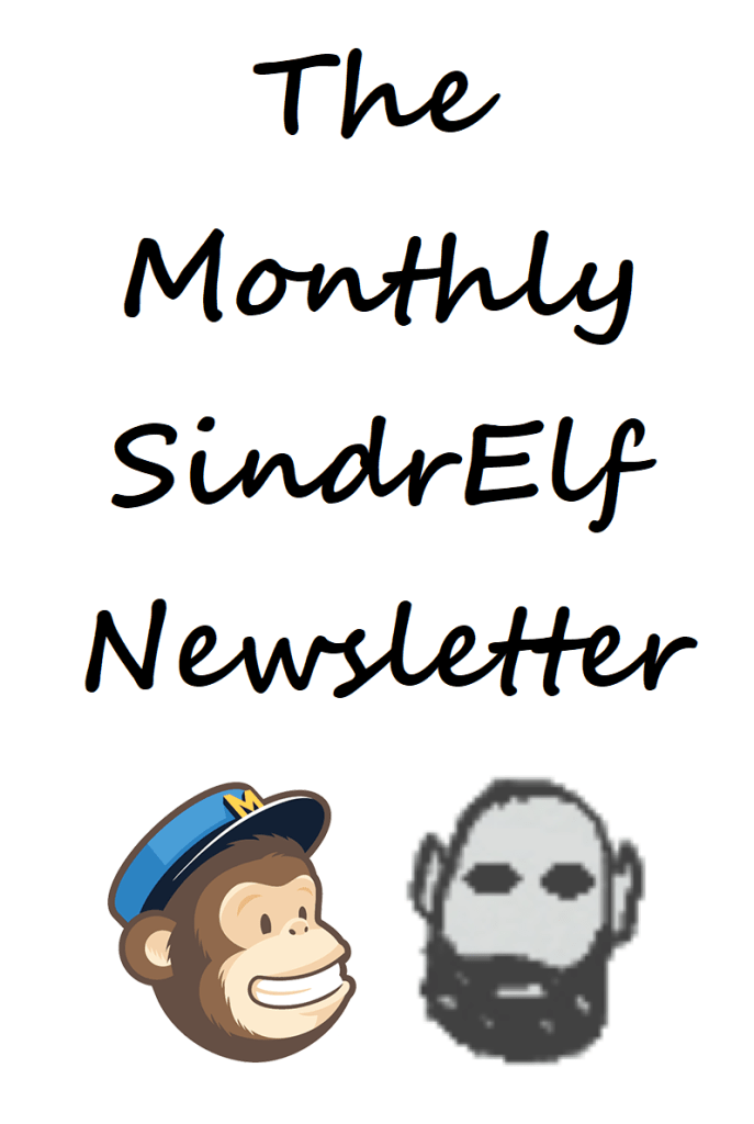 The Monthly SindrElf Newsletter