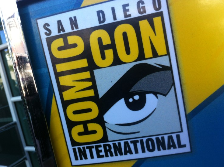 Visiting San Diego Comic-Con International in 2012