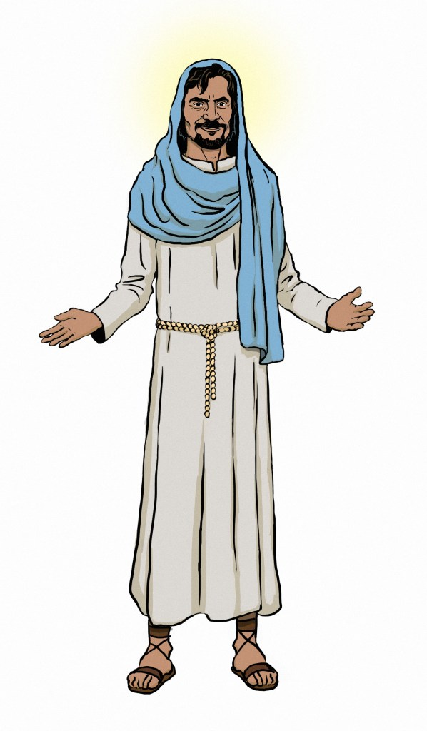 Jesus' Traditional Robes