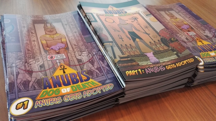 Anubis: Dog of Death #1 Prints - Comic Book Kickstarter Rewards