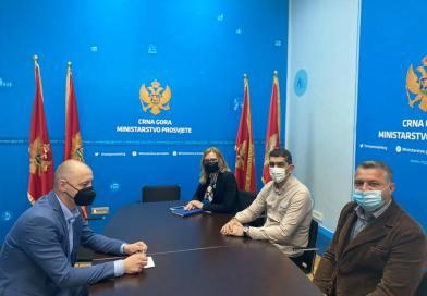 Održan sastanak u Ministarstvu prosvjete, nauke, kulture i sporta