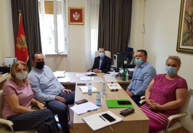 Održan sastanak sa predstavnicima Ministarstva finansija