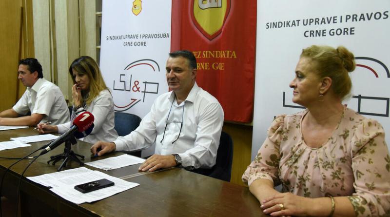 TV VIJESTI – Press SINDIKATA UPRAVE I PRAVOSUĐA CG