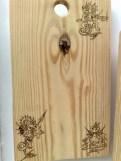 Holzbrett kleine Drachen
