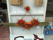 Blumen Wandschmuck