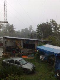 ... und nochmal regen ... um 16:47