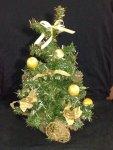 goldene Weihnachtsbaum