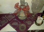 Hand gravierte Glas Aschenbecher auf Wunsch mit Namen