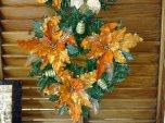 Weihnachtkranz Orange 35cm Ø