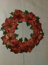 Weihnachtkranz Rot 30cm Ø