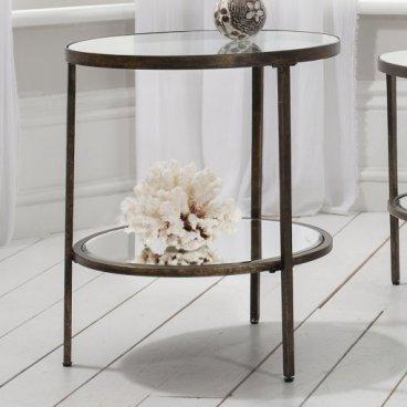A favourite, Frank Hudson bronze tripod side table