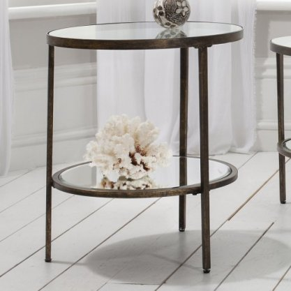 A favourite, Frank Hudson bronze tripod side table