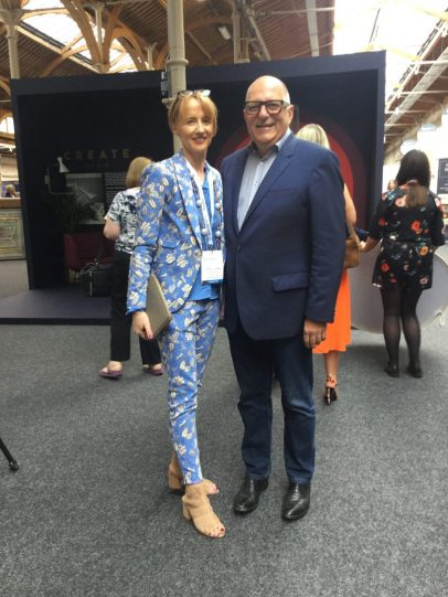 RDS HOUSE 2019- Sinead with Hugh Wallace