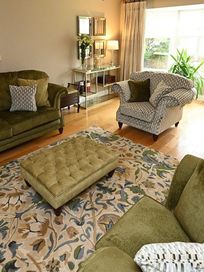 Project green! Completed Sitting room makeover - Sinead Cassidy Design